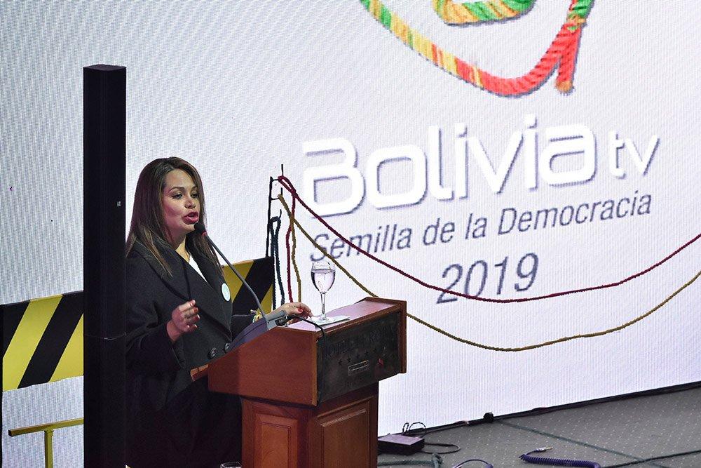 Ministra de Comunicación Roxana Lízarraga