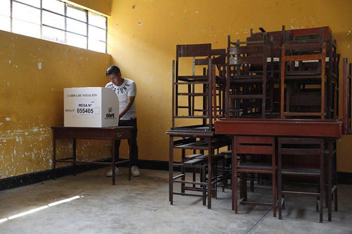 Perú elecciones extraordinarias