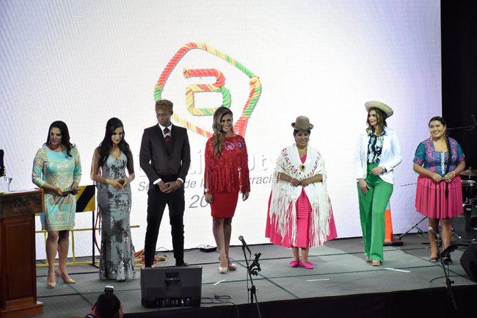 Presentación de nuevos conductores de Bolivia Tv