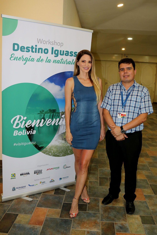 Alison Roca y Joassir Lusquiño