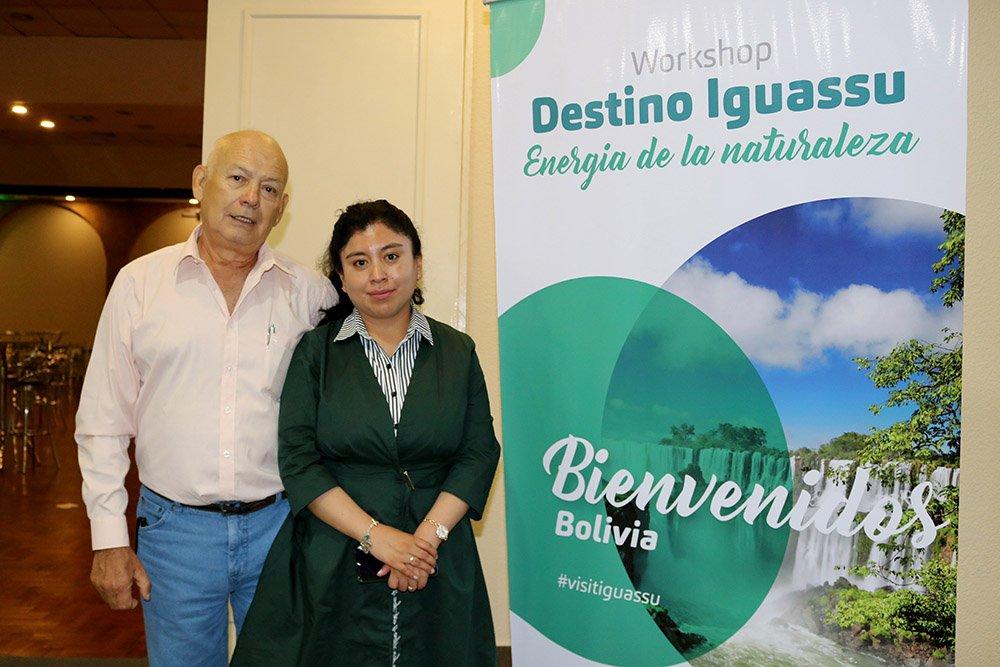 Carlos Avalos y Claudia Machicado
