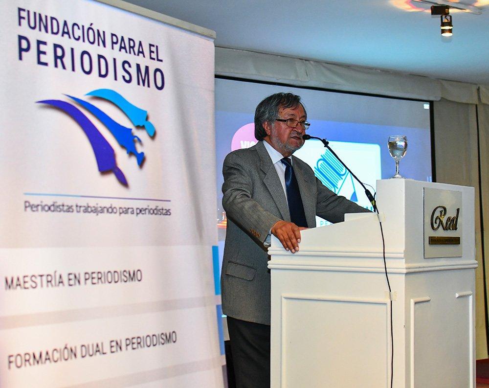 Juan Carlos Salazar Presidente de la Fundación para el Periodismo
