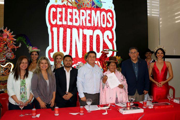Katherine Kohler Mónica Elizabeth Coelho Roberto Cortez Luis Vera Martha Yujra Ibo Blazicevic y Romy Paz