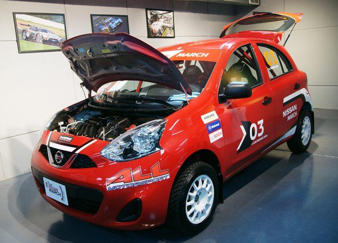Nissan Bolivia presentó los vehículos que competirán en la Copa Nissan March