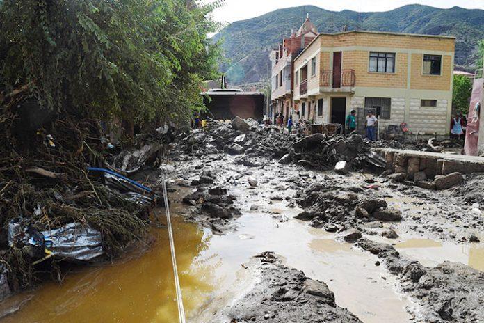 desastre natural en Cotagaita