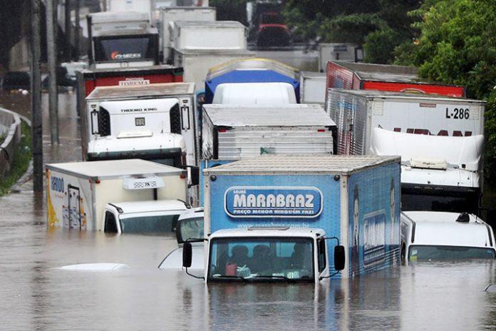 fuertes lluvias Sao Paulo