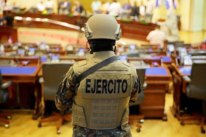 militar El Salvador