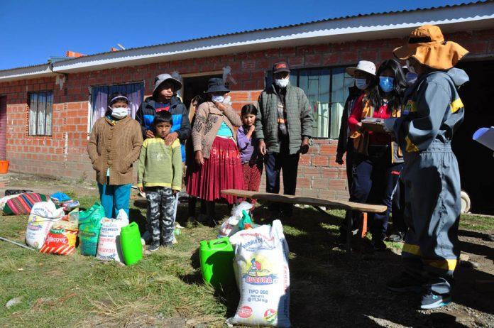Alcaldia inicia la entrega de la Canasta Solidaria Municipal D14