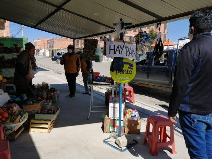 Personal de la Alcaldía alteña en coordinación con la Policía Boliviana las Fuerzas Armadas y guardias municipales realizaron un operativo de control