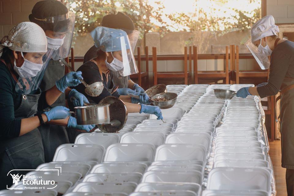 Alimentación nutritiva del personal que trabaja en los centros hospitalarios de La Paz