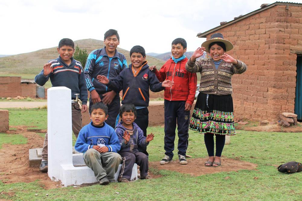 Campaña Súmate Banco Nacional de Bolivia S.A. y Visión Mundial