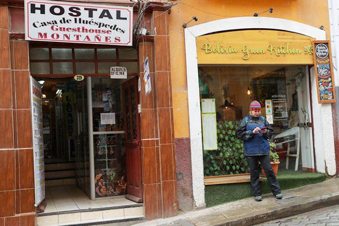hostal en La Paz