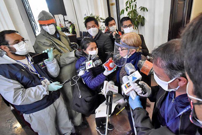 periodistas coronavirus 1