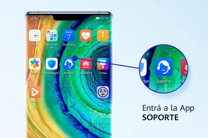 soporte Huawei