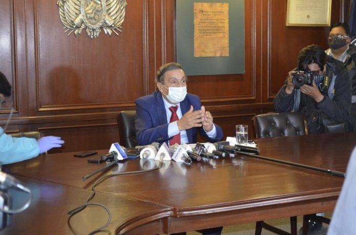 El Presidente de la Cámara Nacional de Comercio CNC – Bolivia Rolando Kempff