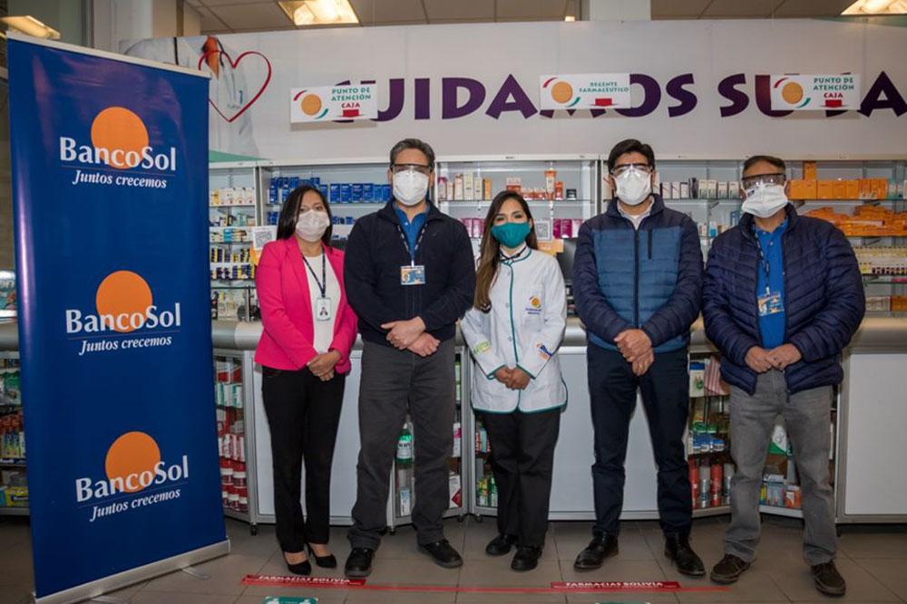 Farmacias Bolivia en el departamento de La Paz ingresan a la venta digital de medicamentos y productos desinfectantes