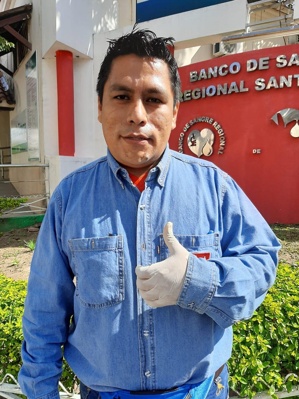 Ing. Samuel Oporto Supervisor de Seguridad y Salud Ocupacional Responsable del Equipo Covid 19
