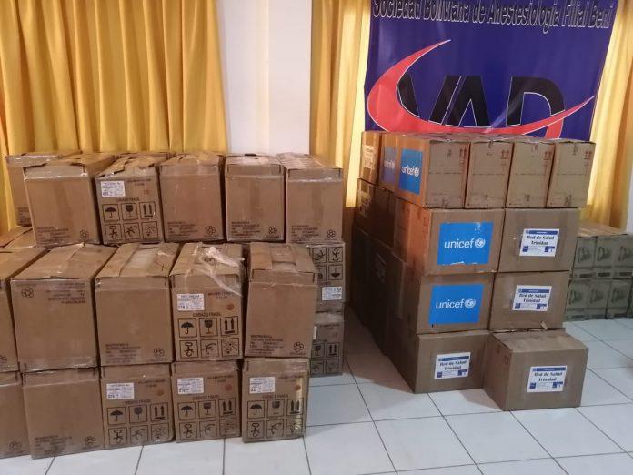 Unicef dona kits de bioseguridad para la niñez