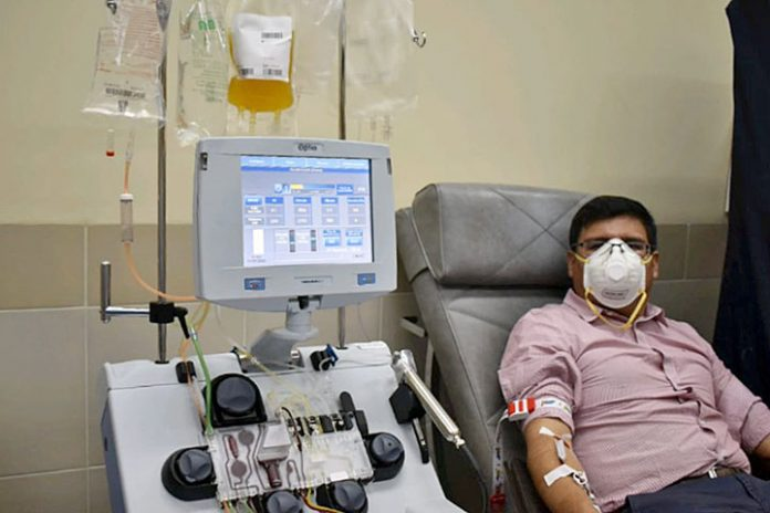 plasma sanguíneo hiperinmune