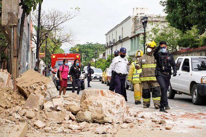 terremoto Oaxaca