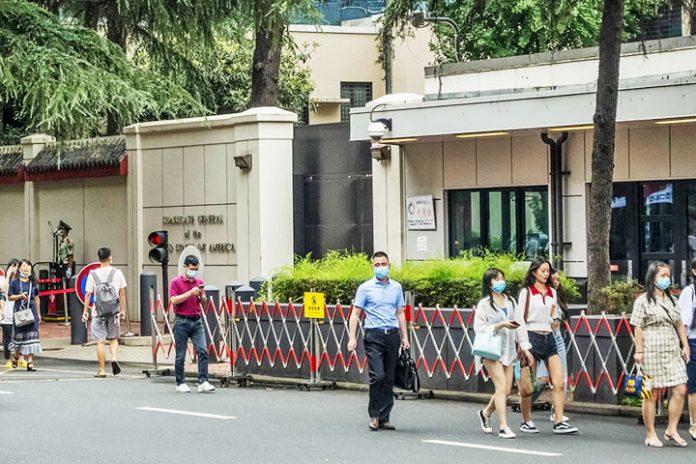 Consulado de EEUU en Chengdu