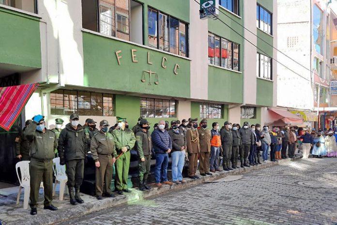FELCC de El Alto