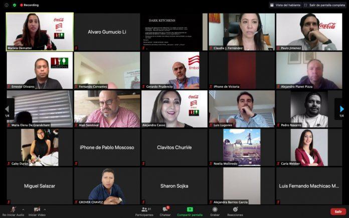 """La Compañía Coca Cola y EMBOL con el apoyo de la Cámara de Empresarios Gastronómicos de La Paz organizaron el Webinar """"Gestión de Nuevas Tendencias Gastronómicas""""."""