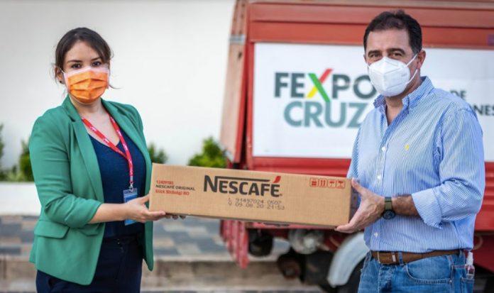 Nestlé garantiza alimentos para los desayunos y meriendas de pacientes y médicos en el centro de aislamiento Covid