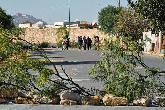 bloqueo Cementerio General Cochabamba
