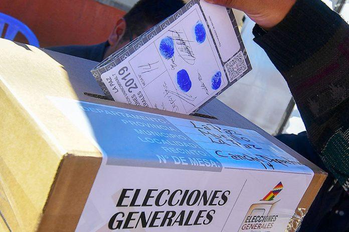 voto elecciones generales