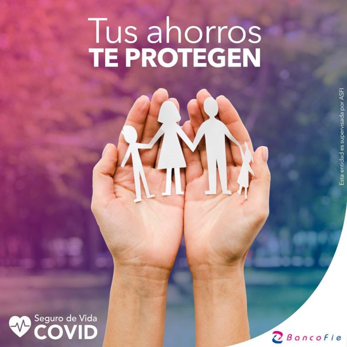 Banco FIE lanza un seguro de vida COVID para sus clientes
