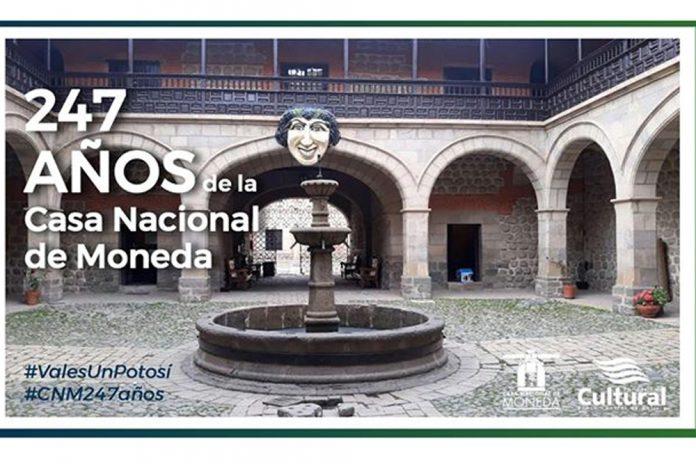 Casa Nacional de Moneda lanza visita virtual
