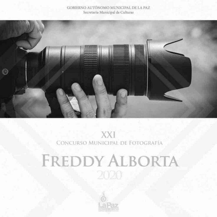 Concurso Municipal de Fotografia Freddy Alborta premiara trabajos que generen reflexion a traves de diversas miradas sobre el aislamiento social en La Paz