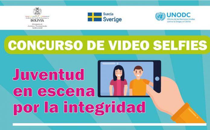 Concurso de video selfies Juventud en escena por la integridad