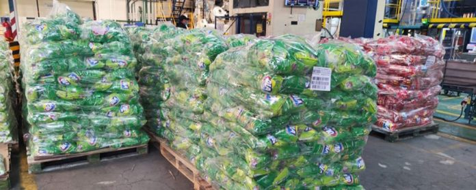 Detergente OLA 100 boliviano