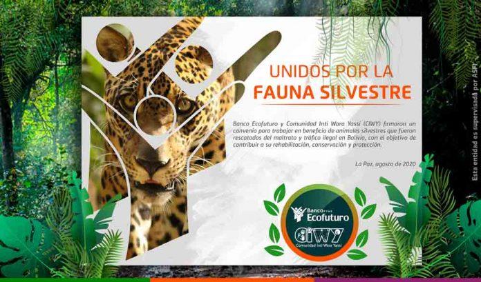 Ecofuturo e Inti Wara Yassi promoveran el cuidado al medio ambiente