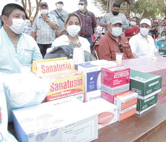 Gestion Social y Corazon Marron entregaron alimentos y medicinas en Guarayos