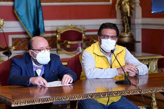 Ramiro Narvaez y Luis Revilla