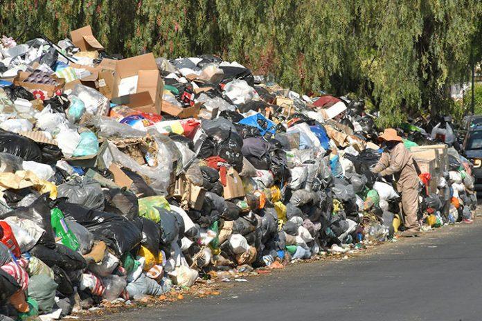 basura en Cochabamba