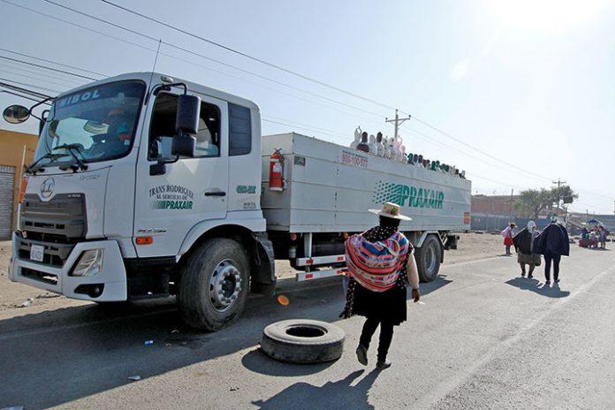 bloqueo Cochabamba
