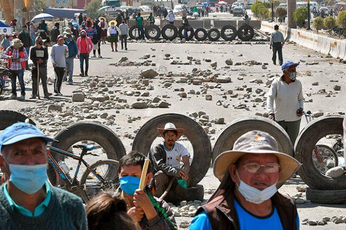 bloqueos Cochabamba 1