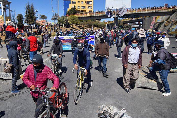 bloqueos El Alto 3