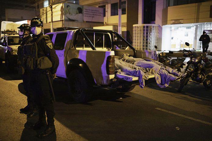 fallecidos fiesta clandestina en Lima