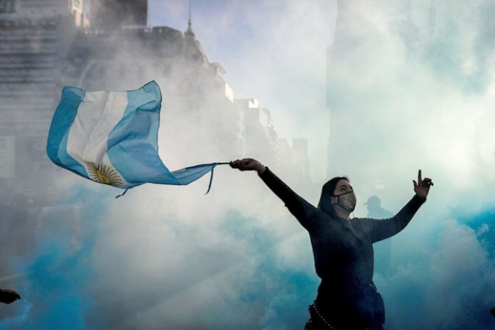 manifestacion Argentina