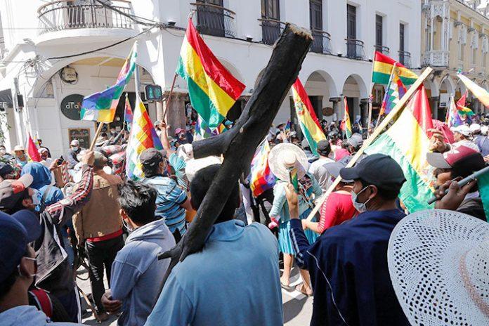 protestas Cochabamba