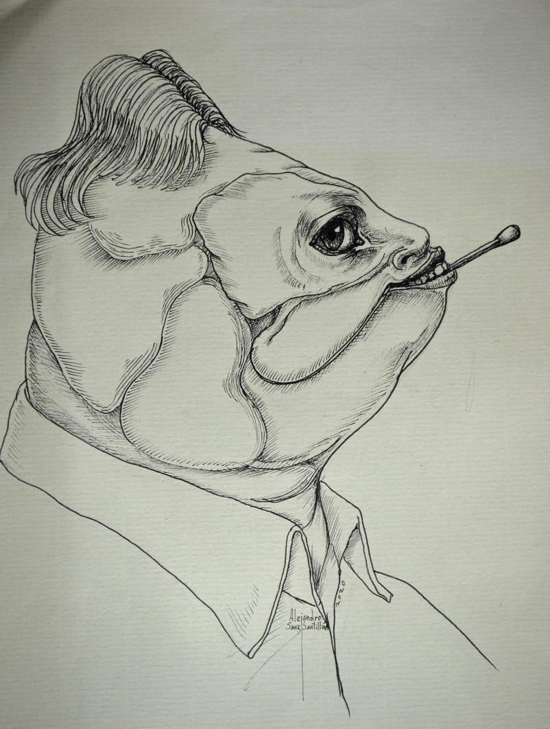 Alejandro Sanz comparte sus dibujos