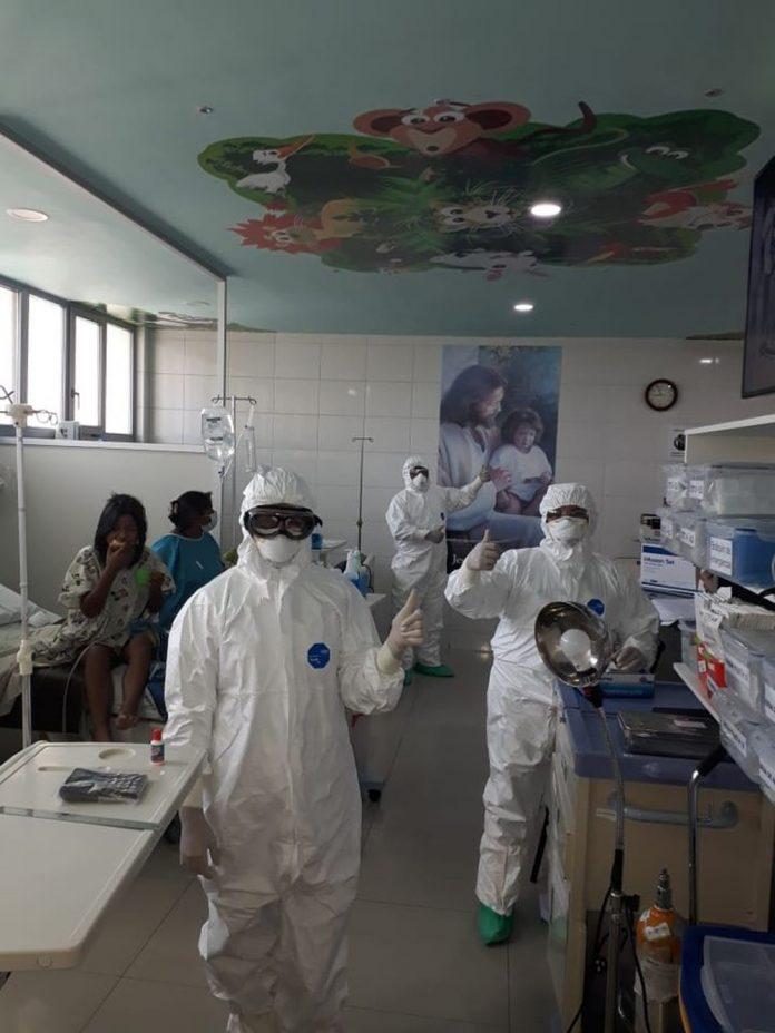Apoyo a centros oncologicos en pandemia