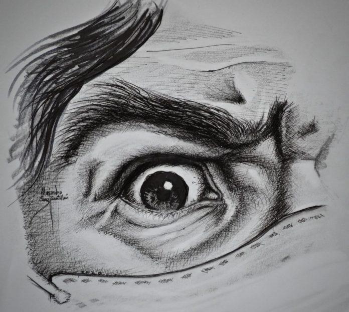 Artista paceno Alejandro Sanz Santillan
