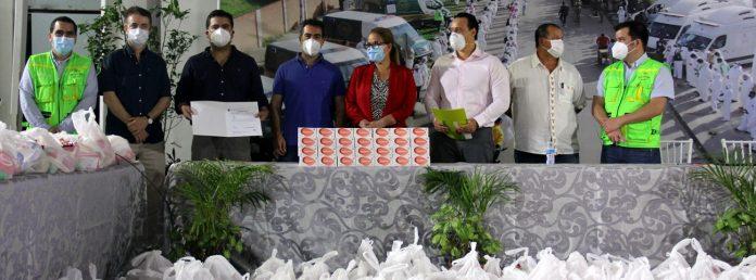 CBN dona 6 toneladas mas de alimentos a las familias en situacion vulnerable