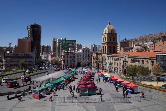 Feria en la Plaza Mayor